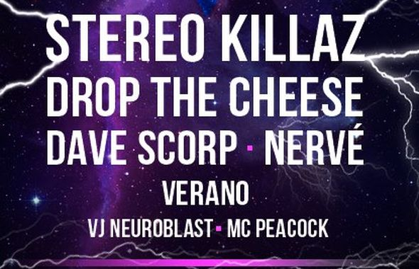 EDG MEGAPARTY / STEREO KILLAZ, DROP THE CHEESE, DAVE SCORP, NERVÉ, Verano @IH